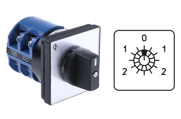 کلید کنترل سرعت الکتروموتور سه فاز