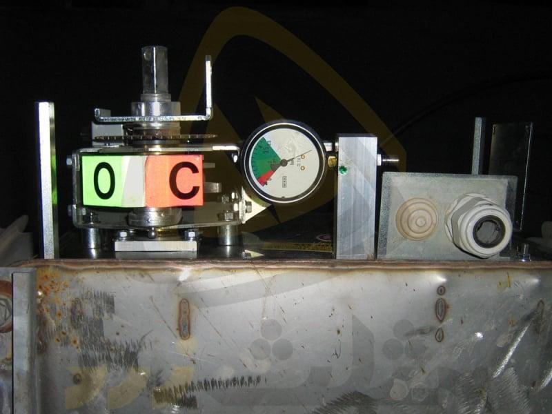 سکسیونر گازی، اتصال کوتاه
