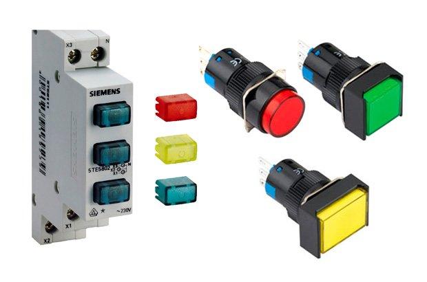 دیاگرام الکتریکی چراغ های سیگنال