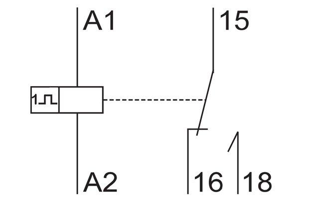 دیاگرام الکتریکی تایمرها، تایمر دو سیمه، تایمر سه سیمه