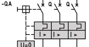 علامت مداری بریکر، انواع نقشه ی الکتریکی