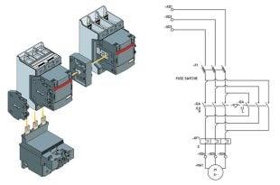 چپ گرد و راست گرد الکتروموتور سه فاز