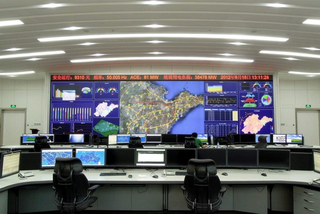 کنترل و راهبری شبکه های الکتریکی