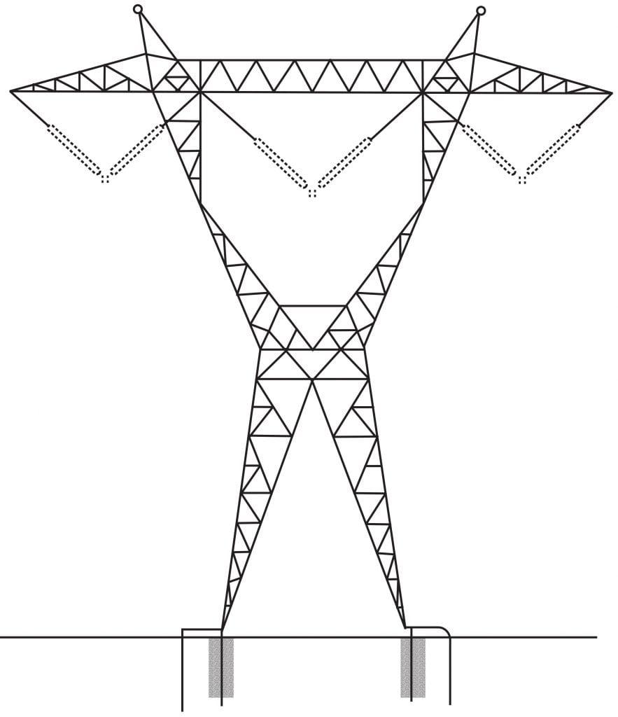 خطوط انتقال برق
